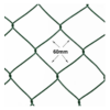 Acél drótkerítés pvc bevonattal 0,80×25 méter