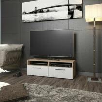Vicco Diego TV állvány, 95 cm, tölgy-fehér