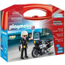 Playmobil 5648 Motoros rendőrjárőr készlet