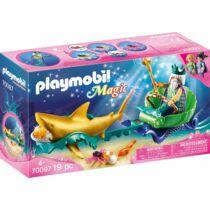 PLAYMOBIL MAGIC: A TENGER KIRÁLYA CÁPAFOGATTAL - 70097