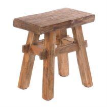 Vintage 40 keményfa ülőke