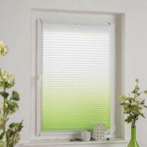 Gardinia 50×130 cm harmónika roló, ombre pliszé függöny, fúrás nélkül, kétszínű