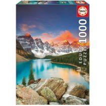 Educa Moraine tó, Banff Nemzeti Park, Kanada 1000 db-os kirakó / puzzle