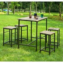 Sobuy bárasztal 4 székkel