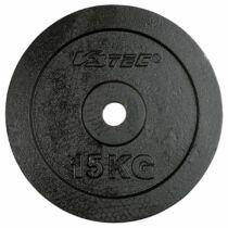 V3Tec öntöttvas súlytárcsa, 1 db, 15 kg