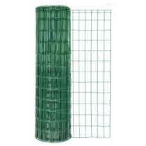 GAH Alberts Fix-Clip-Pro ponthegesztett acél drótkerítés PVC bevonattal, 1,22 m x 25 m, zöld