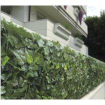 Verdelook mű borostyánlevél kerítés háló, 1×3 m