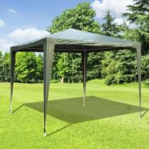 Outsunny kerti sátor/pavilon, zöld, 2,7 x 2,7 m
