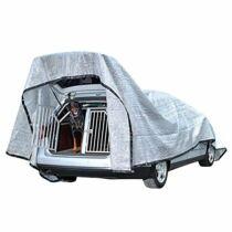 Rosi Barf-Glück alumínium ponyva, árnyékoló kutyák számára az autóban, 6 x 4 m