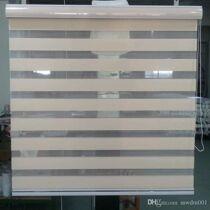 63×116 cm sávos roló, dupla roló, zebra roló, fehér