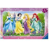 Ravensburger 15 db-os keretes puzzle - Disney Hercegnők (06047)
