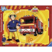 Ravensburger 33 db-os keretes puzzle - Sam a tűzoltó (06132)