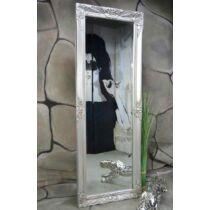 Livitat barokk stílusú fali tükör, 140×50 cm, ezüst (LV9010)