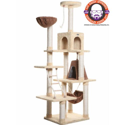 Armarkat prémium, magas macska kaparófa, 198x106x66 cm