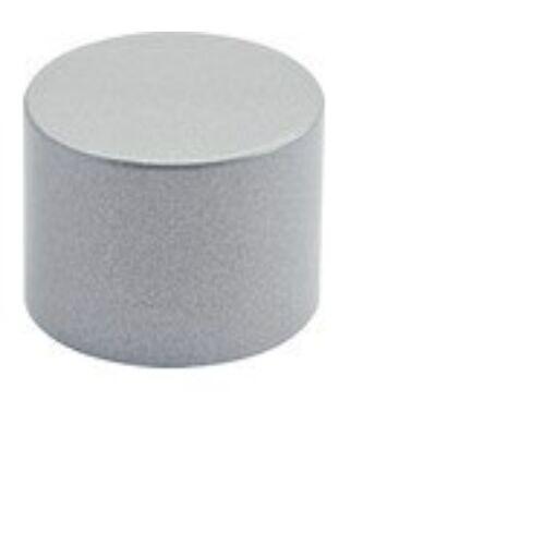 Solevito függönyrúd végsapka /karnis végzáró, szürke, ø 19 mm, 2 db