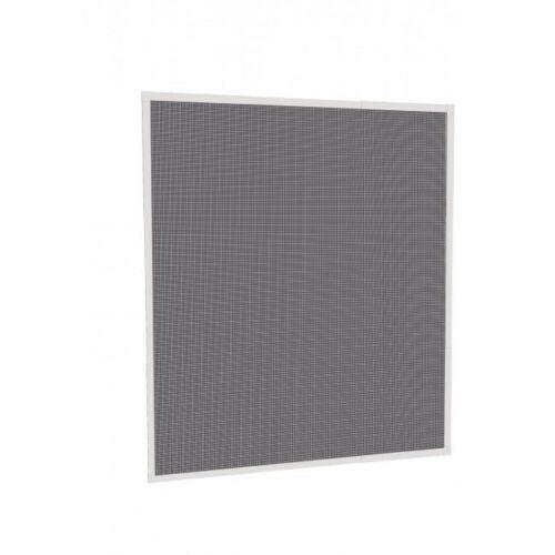 Szúnyogháló/rovalháló alumínium kerettel, fehér / fekete, 130 x 150 cm