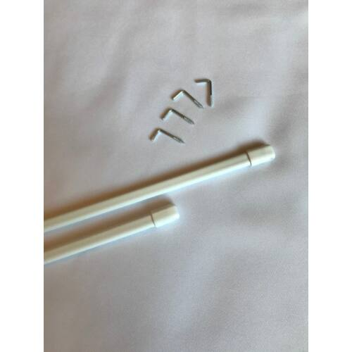 Intensions Függönytartó rúd, fehér, 100-150 cm-ig, 2 db