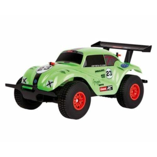 Carrera RC VW Beetle zöld távirányítós terepjáró autó, 1/18, 2.4 GHz