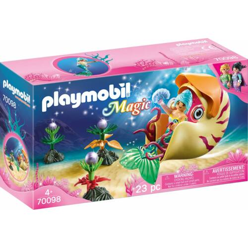 PLAYMOBIL MAGIC HABLEÁNY CSIGAGONDOLÁVAL 70098