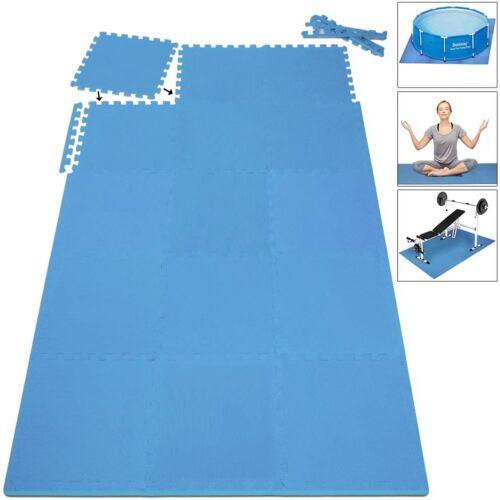 Deuba padlóvédő szőnyeg sporthoz, habszivacs, 135 x 135 x 1 cm