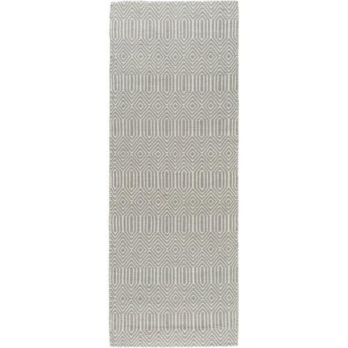 Benuta modern szőtt futószőnyeg, 66×200 cm szürke