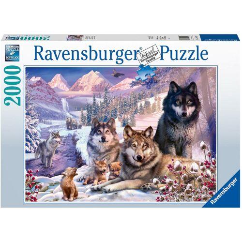 Ravensburger Farkasfalka, 2000 db-os kirakó / puzzle ( 160129 )