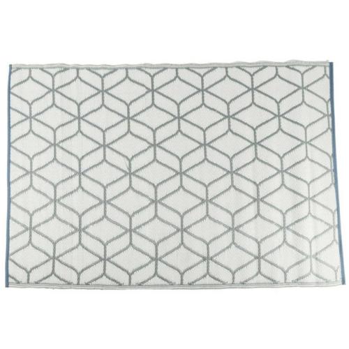 Műanyag szőnyeg geometrikus mintával, 120×180 cm