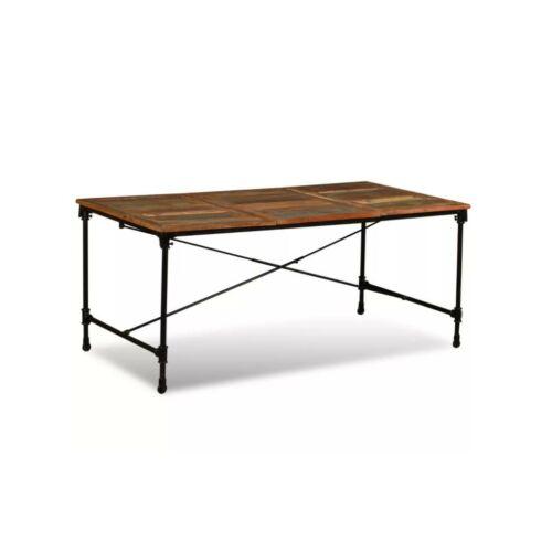 Acél asztalváz kerekekkel, fekete