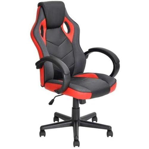 Linton 39F Gamer szék, fekete-piros