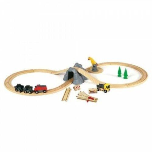 Brio bánya vonat szett (33167)