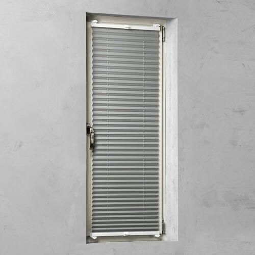 Expo Abiente 60×130 cm feszített termo harmónika roló/ pliszé függöny, tetőablakra is, szürke