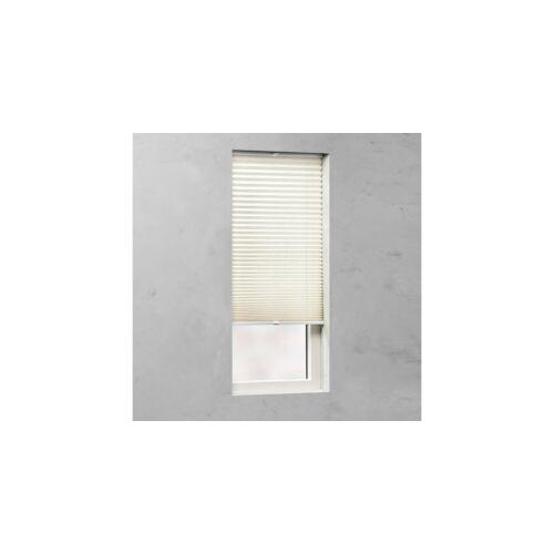 Cocoon 50×130 cm pliszé függöny/harmónika roló, len színű