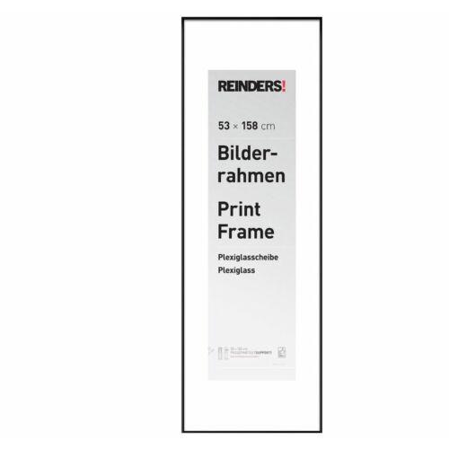 Reinders képkeret – posztertartó keret 53x158cm – fekete