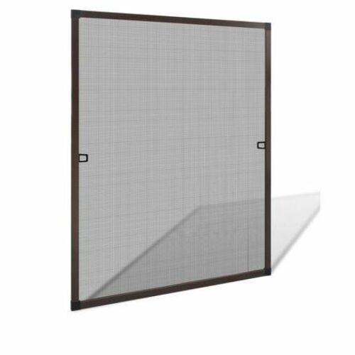 Empasa szúnyogháló/rovalháló alumínium kerettel, barna, 100 x 120 cm