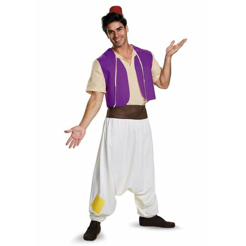 Disney Aladdin férfi jelmez, M