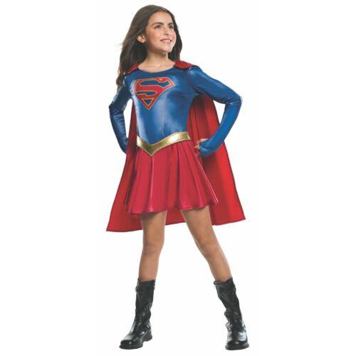 Supergirl lány jelmez, 8-10 év