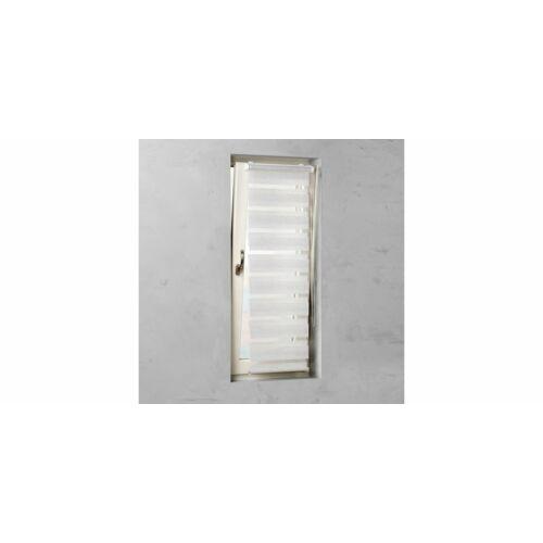 Cocoon 90 x 220 cm sávos roló, dupla roló, zebra roló, fúrás nélkül, len szín