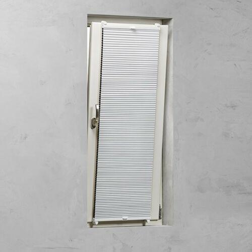 Expo Abiente 50×130 cm feszített harmónika roló/ pliszé függöny, tetőablakra is, fehér
