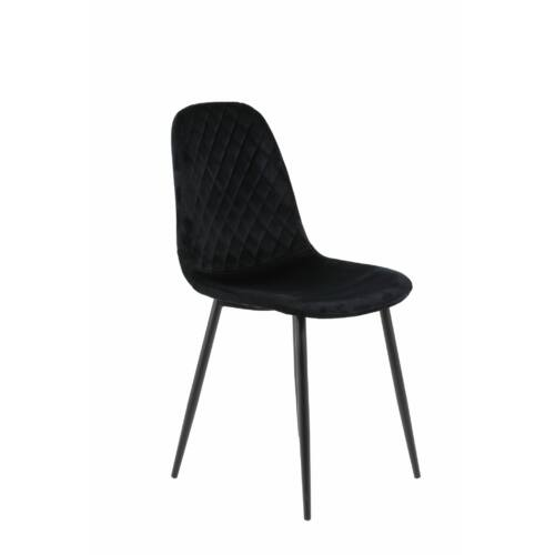 Hela Mira bársony szék, 2 db