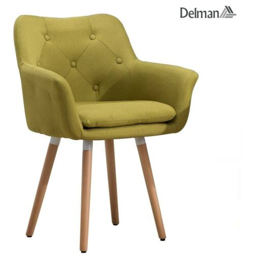 Delman karosszék 02-0015, zöld