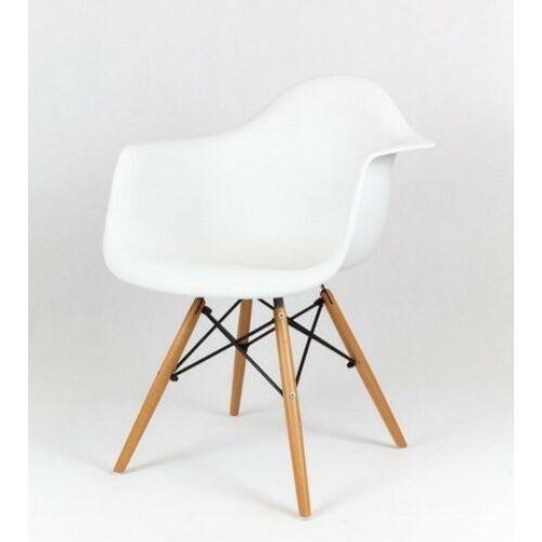 Eiffel Design karfás szék, fehér