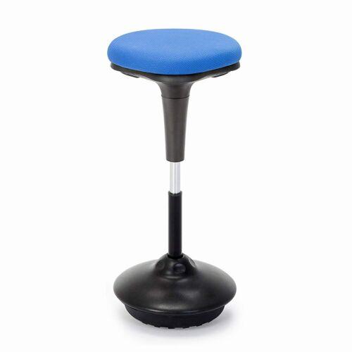 Aktív szék, állítható magasság, kék