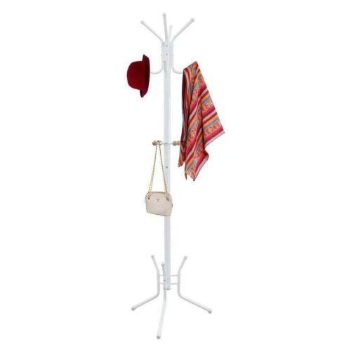 Todeco álló ruhafogas esernyőtartóval, fehér
