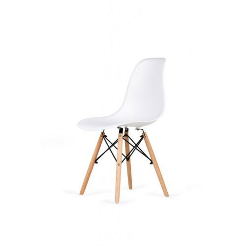 Eiffel design szék, fehér, 4 db