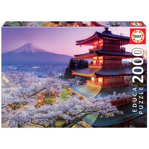 Educa Fudzsi-hegy, Japán 2000 db-os kirakó / puzzle