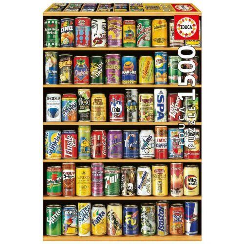 Educa üdítős dobozok 1500 db-os kirakó / puzzle ( 14446 )