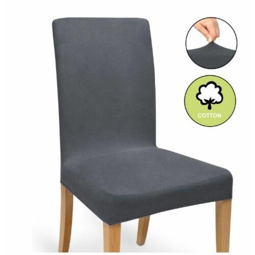 Beautissu Mia Bi-Elastic székhuzat, antracit, 50x40x35 cm