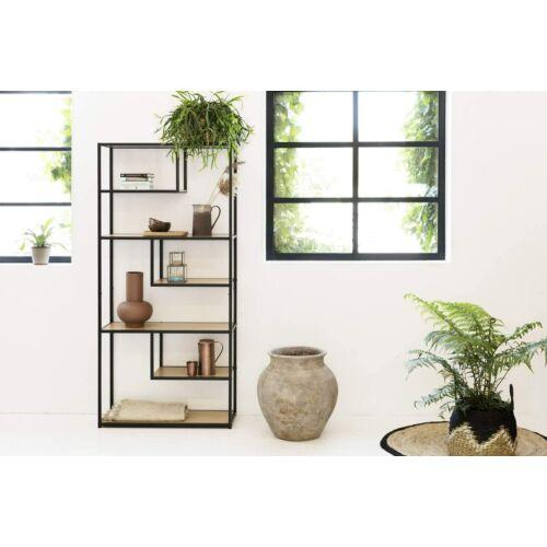 Lifa Living ipari könyvespolc, 82 x 34 x 175 cm
