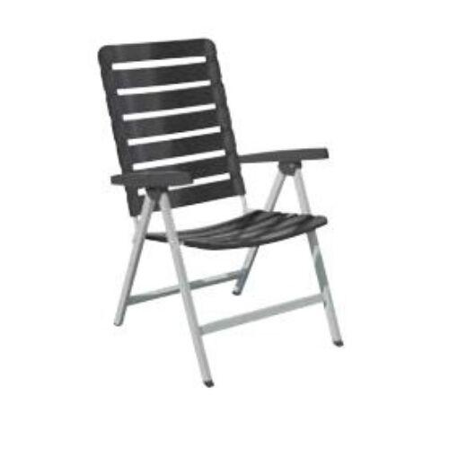 MFG Kurz összecsukható kerti szék, acél-műanyag