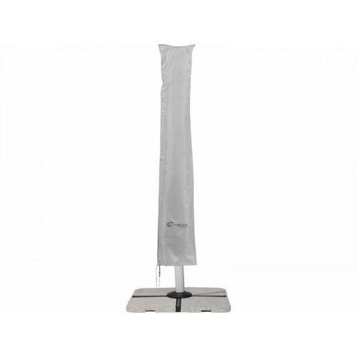 Schneider védőhuzat, szürke, 400 cm átmérőjű / 300×300 cm napernyőkre